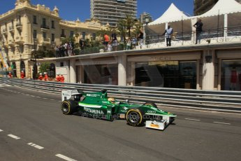 World © Octane Photographic Ltd. Friday 23rd May 2014. GP2 Feature Race – Monaco, Monte Carlo. Rio Haryanto - EQ8 Caterham Racing. Digital Ref : 0963LB1D7094