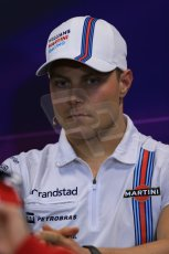 World © Octane Photographic Ltd. Wednesday 21st May 2014. Monaco - Monte Carlo - Formula 1 Drivers' Press Conference. Valtteri Bottas - Martini Williams Racing. Digital Ref : 0955lb1d3077
