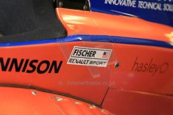 World © Octane Photographic Ltd. Protyre Formula Renault Championship. May 31st 2014.  Qualifying – Castle Donington. Travis Jordan (TJ) Fischer – Cliff Dempsey Racing. Digital Ref :  0973CB1D0362