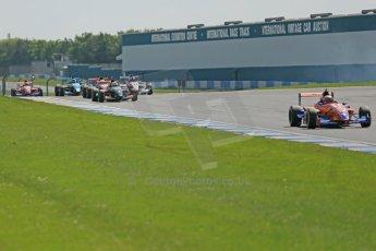 World © Octane Photographic Ltd. Protyre Formula Renault Championship. June 1st 2014.  Race 2 – Castle Donington. Midfield pack. Digital Ref : 0975CB1D0653