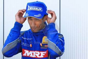 World © Octane Photographic Ltd. Protyre Formula Renault Championship. June 1st 2014.  Race 2 – Castle Donington. Tarun Reddy – MGR Motorsport. Digital Ref : 0975CB1D0842