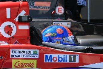 World © Octane Photographic Ltd. Protyre Formula Renault Championship. June 1st 2014. Race 2 – Castle Donington. Pietro Fittipaldi – MGR Motorsport. Digital Ref : 0975CB1D0891