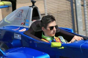 World © Octane Photographic Ltd. Protyre Formula Renault Championship. June 1st 2014.  Race 2 – Castle Donington. Piers Hickin – Scorpio Motorsport. Digital Ref : 0975CB1D0969