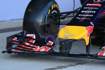 World © Octane Photographic Ltd. 2014 Formula 1 Winter Testing, Circuito de Velocidad, Jerez. Tuesday 27th January 2014. Day 1. Infiniti Red Bull Racing RB10 launch. Digital Ref: 0885lb1d9919