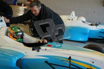 World © Octane Photographic Ltd. 21st March 2014. Silverstone - General Test Day - Charlie (Charles) Eastwood - Douglas Motorsport. BRDC F4 Championship (Formula 4). Digital Ref : 0896cb1d3736