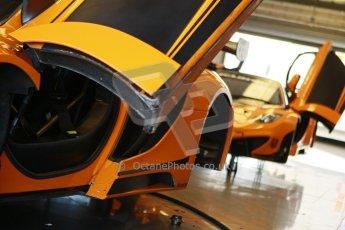 World © Octane Photographic Ltd. 21st March 2014. Silverstone - General Test Day. McLaren MP4-12C GT3. Digital Ref : 0896cb1d3935