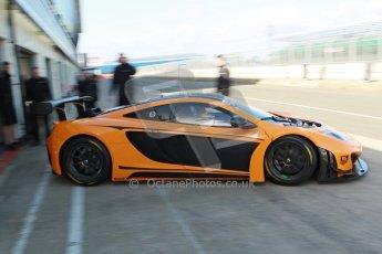 World © Octane Photographic Ltd. 21st March 2014. Silverstone - General Test Day. McLaren MP12-4C GT3. Digital Ref : 0896cb1d4007