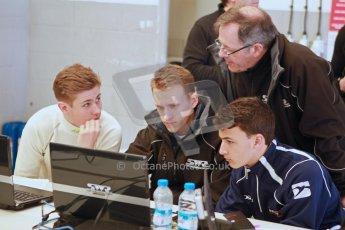 World © Octane Photographic Ltd. 21st March 2014. Silverstone - General Test Day - SWR - Sean Walkinshaw Racing, Nicolas Beer and Diego Borrelli. BRDC F4 Championship (Formula 4). Digital Ref : 0896cb1d4082