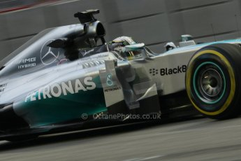 World © Octane Photographic Ltd. Friday 19th September 2014, Singapore Grand Prix, Marina Bay. - Formula 1 Practice 1. Mercedes AMG Petronas F1 W05 – Lewis Hamilton. Digital Ref: