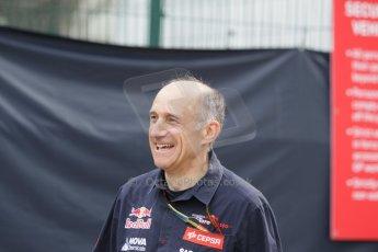 World © Octane Photographic Ltd. Saturday 20th September 2014, Singapore Grand Prix, Marina Bay. - Formula 1 Paddock. Scuderia Toro Rosso - Franz Tost. Digital Ref: 1122CB1D8282