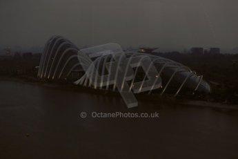 World © Octane Photographic Ltd. Wednesday 17th September 2014, Singapore Grand Prix, Marina Bay. Formula 1 Setup and atmosphere. Digital Ref: 1115LB1D8846