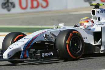 World © Octane Photographic Ltd. Friday 9th May 2014. Circuit de Catalunya - Spain - Formula 1 Practice 1 pitlane. Williams Martini Racing FW36 – Felipe Nasr – Reserve Driver. Digital Ref: