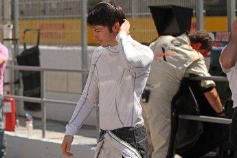World © Octane Photographic Ltd. Friday 9th May 2014. GP2 Practice – Circuit de Catalunya, Barcelona, Spain. Adrian Quaife-Hobbs - Rapax. Digital Ref : 0927cb7d8984
