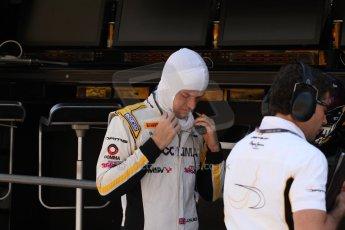 World © Octane Photographic Ltd. Friday 9th May 2014. GP2 Practice – Circuit de Catalunya, Barcelona, Spain. Jolyon Palmer - DAMS – Digital Ref : 0927cb7d9027