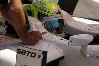 World © Octane Photographic Ltd. Friday 9th May 2014. GP2 Practice – Circuit de Catalunya, Barcelona, Spain. Kimiya Sato - Campos Racing. Digital Ref :0927cb7d9050