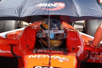 World © Octane Photographic Ltd. Friday 9th May 2014. GP2 Practice – Circuit de Catalunya, Barcelona, Spain. Tom Dillmann - Arden International. Digital Ref :0927cb7d9063