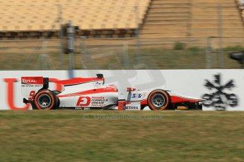 World © Octane Photographic Ltd. Friday 9th May 2014. GP2 Practice – Circuit de Catalunya, Barcelona, Spain. Takuya Izawa - ART Grand Prix. Digital Ref : 0927lb1d3259