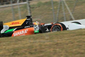 World © Octane Photographic Ltd. Friday 9th May 2014. GP2 Practice – Circuit de Catalunya, Barcelona, Spain. Daniel Abt - Hilmer Motorsport. Digital Ref: 0927lb1d4531