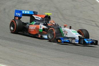 World © Octane Photographic Ltd. Friday 9th May 2014. GP2 Practice – Circuit de Catalunya, Barcelona, Spain. Facu Regalia - Hilmer Motorsport. Digital Ref : 0927lb1d4746