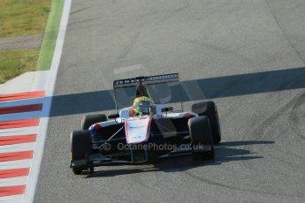 World © Octane Photographic Ltd. Friday 9th May 2014. GP3 Practice  – Circuit de Catalunya, Barcelona, Spain. Pal Varhaug - Jenzer Motorsport. Digital Ref :