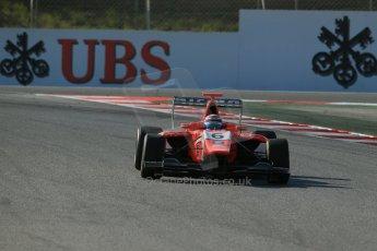 World © Octane Photographic Ltd. Friday 9th May 2014. GP3 Practice  – Circuit de Catalunya, Barcelona, Spain. Jann Mardenborough - Arden International. Digital Ref :