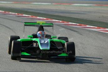World © Octane Photographic Ltd. Friday 9th May 2014. GP3 Practice  – Circuit de Catalunya, Barcelona, Spain. Richie Stanaway - Status Grand Prix. Digital Ref :