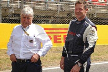 World © Octane Photographic Ltd. Mercedes SLS AMG F1/GP2/GP3 Safety Car - Bernd Maylander and Herbie Blash. Digital Ref : 0939cb7d0128