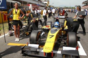 World © Octane Photographic Ltd. Saturday 10th May 2014. GP2 Race 1 – Circuit de Catalunya, Barcelona, Spain. Jolyon Palmer - DAMS – Digital Ref :