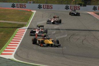 World © Octane Photographic Ltd. Saturday 10th May 2014. GP2 Race 1 – Circuit de Catalunya, Barcelona, Spain. Stephane Richelmi - DAMS – Digital Ref :