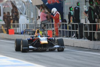 World © Octane Photographic Ltd. Saturday 10th May 2014. GP3 Qualifying – Circuit de Catalunya, Barcelona, Spain. Alex Lynn - Carlin. Digital Ref :