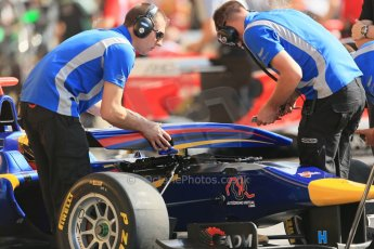World © Octane Photographic Ltd. Saturday 10th May 2014. GP3 Qualifying – Circuit de Catalunya, Barcelona, Spain. Luis Sa Silva - Carlin. Digital Ref :