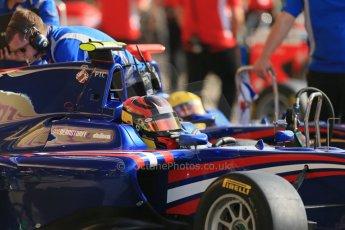 World © Octane Photographic Ltd. Saturday 10th May 2014. GP3 Qualifying – Circuit de Catalunya, Barcelona, Spain. Emil Bernstorff - Carlin. Digital Ref :