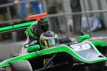 World © Octane Photographic Ltd. Saturday 10th May 2014. GP3 Qualifying – Circuit de Catalunya, Barcelona, Spain. Alfonso Celis jr - Status Grand Prix. Digital Ref :