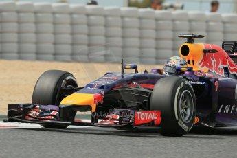 World © Octane Photographic Ltd. Saturday 10th May 2014. Circuit de Catalunya - Spain - Formula 1 Practice 3. Infiniti Red Bull Racing RB10 - Sebastian Vettel. Digital Ref: 0935lb1d7426