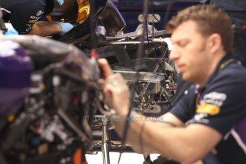 World © Octane Photographic Ltd. Sunday 11th May 2014. Circuit de Catalunya - Spain - Formula 1 Pit;ane. Infiniti Red Bull Racing RB10 - Sebastian Vettel. Digital Ref: