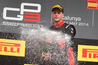 World © Octane Photographic Ltd. Sunday 11th May 2014. GP3 Race 2 – Circuit de Catalunya, Barcelona, Spain. Dean Stoneman (1st) - Marussia Manor Racing. Digital Ref : 0940cb7d0731