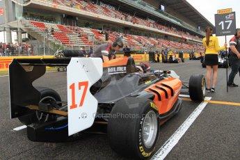 World © Octane Photographic Ltd. Sunday 11th May 2014. GP3 Race 2 – Circuit de Catalunya, Barcelona, Spain. Ivan Taranov - Hilmer Motorsport. Digital Ref : 0940cb7d4700