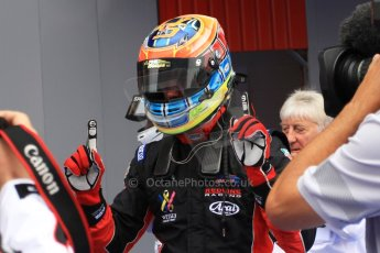 World © Octane Photographic Ltd. Sunday 11th May 2014. GP3 Race 2 – Circuit de Catalunya, Barcelona, Spain. Dean Stoneman - Marussia Manor Racing. Digital Ref : 0940cb7d4735