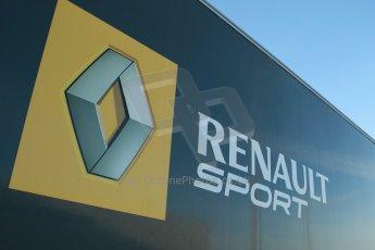 World © Octane Photographic Ltd. World Series by Renault collective test, Jerez de la Frontera, March 24th 2014. Renault Sport logo. Digital Ref : 0897cb1d4444