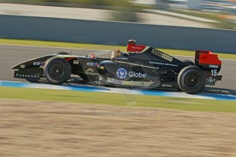 World © Octane Photographic Ltd. World Series by Renault collective test, Jerez de la Frontera, March 24th 2014. Lotus – Marlon Stockinger. Digital Ref : 0897cb1d4530