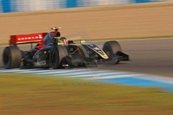 World © Octane Photographic Ltd. World Series by Renault collective test, Jerez de la Frontera, March 25th 2014. Lotus – Matthieu Vaxiviere . Digital Ref : 0898cb1d6798