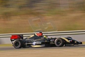 World © Octane Photographic Ltd. World Series by Renault collective test, Jerez de la Frontera, March 25th 2014. Lotus – Matthieu Vaxiviere . Digital Ref : 0898cb1d6861