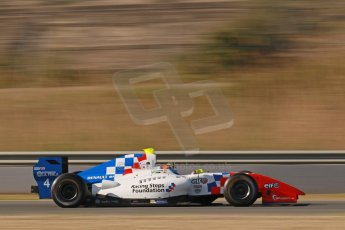 World © Octane Photographic Ltd. World Series by Renault collective test, Jerez de la Frontera, March 25th 2014. Fortec Motorsports – Oliver Rowland. Digital Ref : 0898cb1d6920