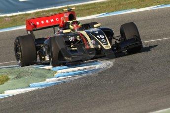 World © Octane Photographic Ltd. World Series by Renault collective test, Jerez de la Frontera, March 25th 2014. Lotus – Matthieu Vaxiviere . Digital Ref : 0898cb7d7923