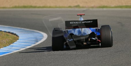 World © Octane Photographic Ltd. World Series by Renault collective test, Jerez de la Frontera, March 25th 2014. International Draco Racing – Pietro Fantin. Digital Ref : 0898lb1d8215
