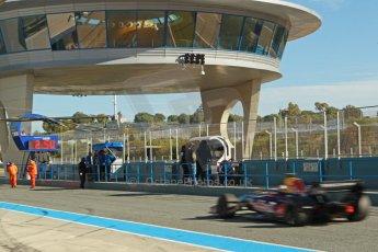 World © Octane Photographic Ltd. World Series by Renault collective test, Jerez de la Frontera, March 26th 2014. DAMS - Carlos Sainz jnr. Digital Ref : 0899cb1d7152