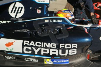 World © Octane Photographic Ltd. World Series by Renault collective test, Jerez de la Frontera, March 26th 2014. Pons Racing – Tio Ellinas. Digital Ref : 0899cb1d7184