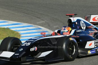 World © Octane Photographic Ltd. World Series by Renault collective test, Jerez de la Frontera, March 26th 2014. Pons Racing – Tio Ellinas. Digital Ref : 0899lb1d8626