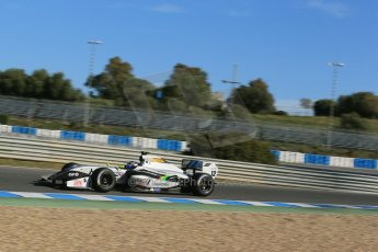 World © Octane Photographic Ltd. World Series by Renault collective test, Jerez de la Frontera, March 26th 2014. Strakka Racing – Matias Laine. Digital Ref : 0899lb1d8971