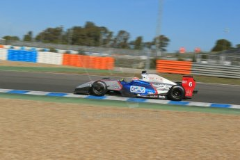 World © Octane Photographic Ltd. World Series by Renault collective test, Jerez de la Frontera, March 26th 2014. Fortec Motorsports – Oliver Rowland. Digital Ref : 0899lb1d9045